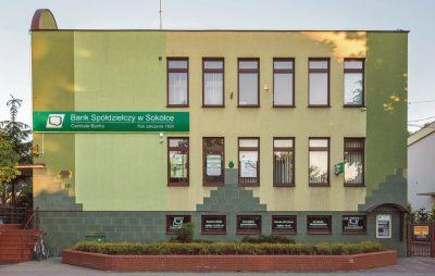 Siedziba centrali Banku Spółdzielczego w Sokółce